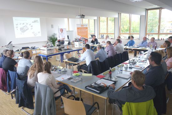 Intercontec Product Training for the DACH Region Sales Partners